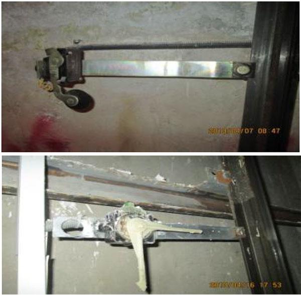 کلیدهای حد نهایی در چاهک آسانسور