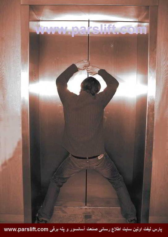 دیر باز شدن درب آسانسور و دلایل آن www.parslift.com