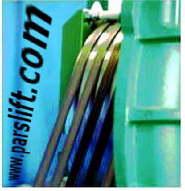 هماهنگی بین تولید موتور گیرلس و تسمه فولادی  تخت www.parslift.com