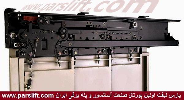 احتمال اشکال  در اتصال صحیح قفل و کنتاکت درب کابین آسانسور www.parslift.com