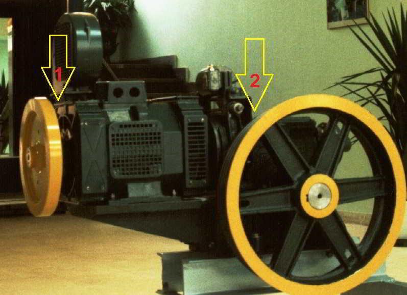 شماره یک محل روغن موتور و شماره 2 روغن گیربکس است www.parslift.com
