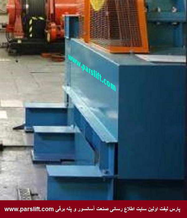 2- پایه موتور گیربکس آسانسور