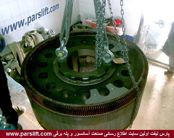 استفاده از سوکت های ویژ] برای اتصال قلاب ها و زنجیرها به قطعات موتور گیرلسparslift.com