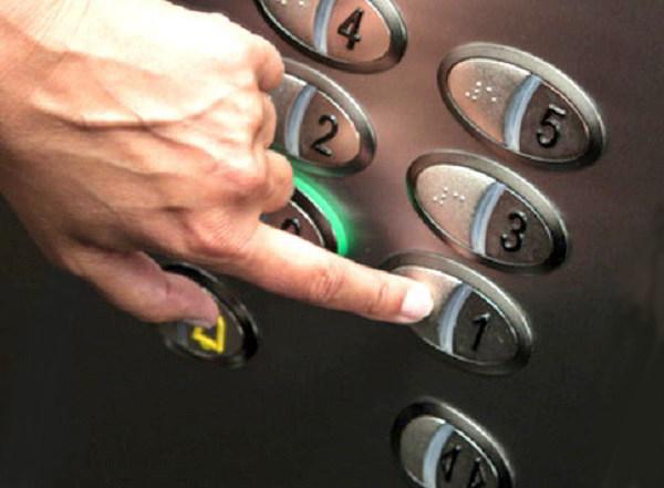 دکمه های شستی آسانسور بهترین پناهگاه باکتری ها www.parslift.com
