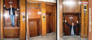آسانسور با حرکت دائم