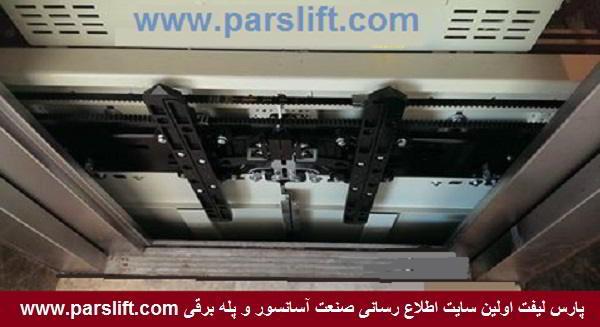 شرکتهای تولید کننده درب اتوماتیک آسانسور www.parslift.com