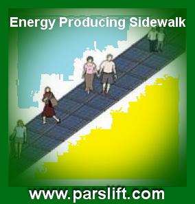 طرح تولید برق از پیاده روی متحرک