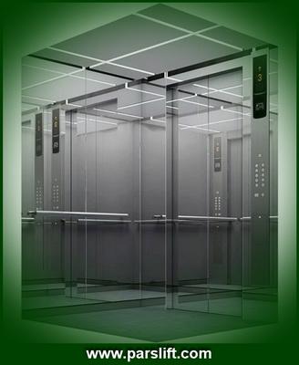 کیفیت نوع مواد بکار رفته در کابین آسانسور در تفاوت نرخ موثر است parslift.com